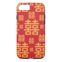 Double Happiness Chinese Wedding New Year Symbol iPhone 7 Case
