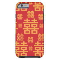 Double Happiness Chinese Wedding New Year Symbol Tough iPhone 6 Case