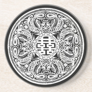 Double Happiness Drink Coaster