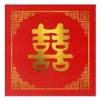 Double Happiness Feng Shui Symbol
