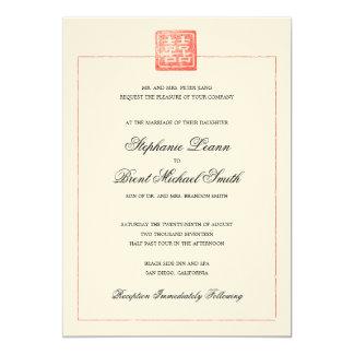 Modern Chinese Wedding Invitations