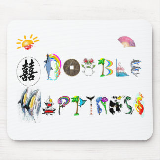 double happiness mouse pad