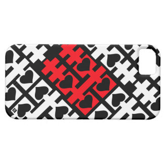 Double Happiness Red Heart iPhone 5 Case