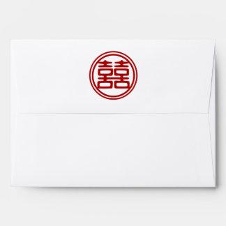 Double Happiness • Round Envelope