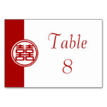 Double Happiness • Round Table Card