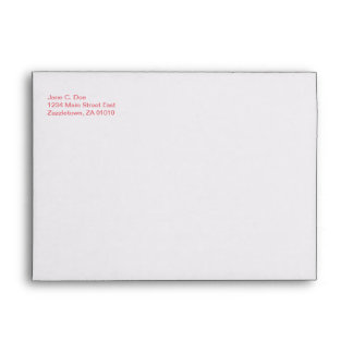 Double Happiness • Square Envelope