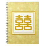 Double Happiness • Square • Gold Journals