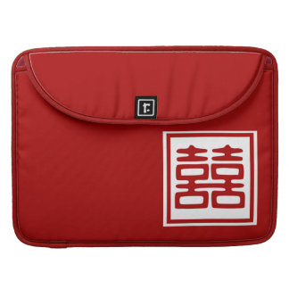 Double Happiness • Square MacBook Pro Sleeve