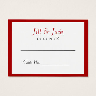 Double Happiness • Square • Place Cards