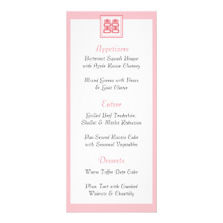 Double Happiness • Square Rack Card