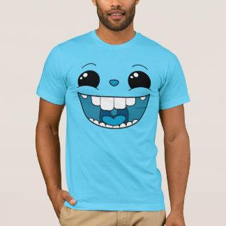 Double Happy Blue Face Men's T-Shirt