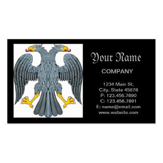 Double-head Eagle Business Card