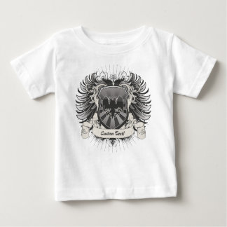 Double Headed Eagle Crest Baby T-Shirt