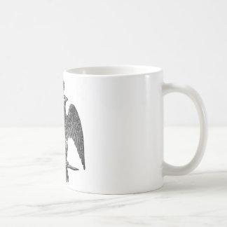 Double-headed eagle classic white coffee mug