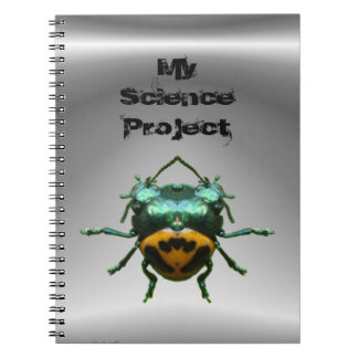 Double Header Beetle ~ Notebook