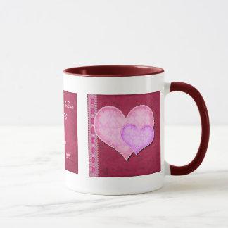 Double Heart Mug