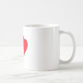 Double heart mugs