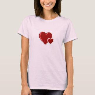 Double Heart Valentine T-shirt