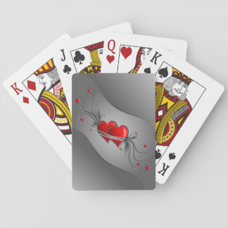 Double Hearts Playing Cards