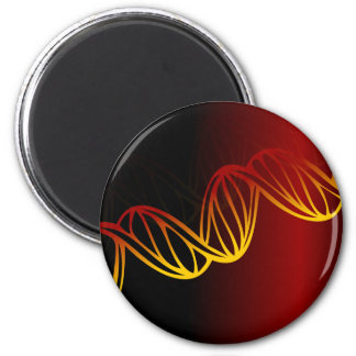 Double Helix 2 Inch Round Magnet