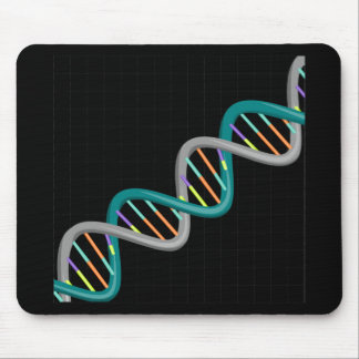 Double Helix Nucleic Acid Mouse Pad