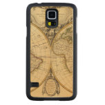 Double Hemisphere Carved® Maple Galaxy S5 Slim Case