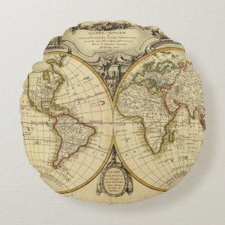 Double Hemisphere Round Pillow