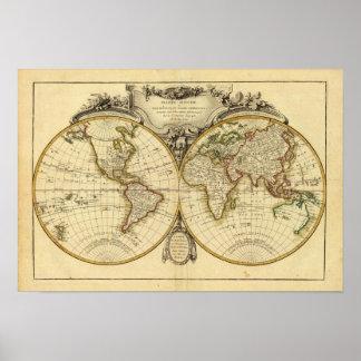 Double Hemisphere Print