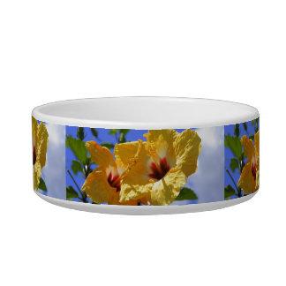 Double Hibiscus Bowl