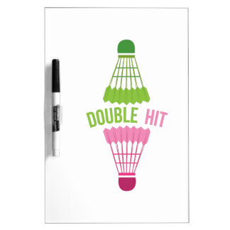 Double Hit Dry-Erase Boards