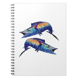 DOUBLE HOOK UP NOTEBOOK