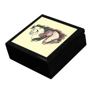 Double Horse Head Gift Box