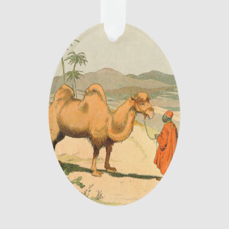 Double-Hump Camel in the Mongolian Desert Ornament