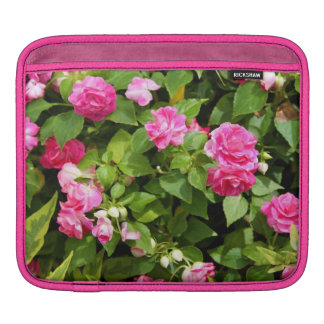 Double Impatiens iPad Sleeve (or for macbook air)
