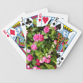 Double Impatiens Playing Cards