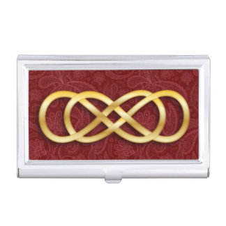 Double Infinity 12 - Business Card Holder
