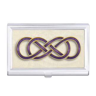Double Infinity 22 - Business Card Holder