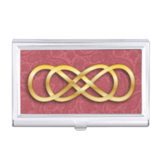 Double Infinity 8 - Business Card Holder