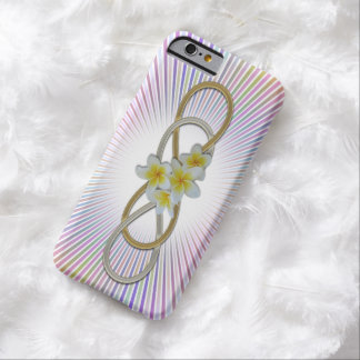Double Infinity BiColor Frangipani Barely There iPhone 6 Case