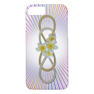 Double Infinity BiColor Frangipani iPhone 7 Case