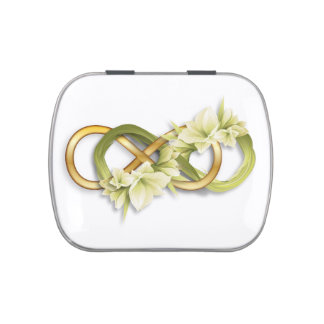 Double Infinity Gold & Cowlilies - Jelly Belly Jelly Belly Tins