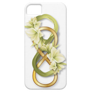 Double Infinity Gold & Cowlily - iPhone 1 iPhone SE/5/5s Case