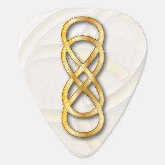 Double Infinity Gold - Guitar Pick