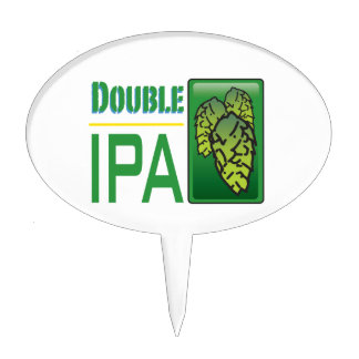 Double IPA Cake Toppers