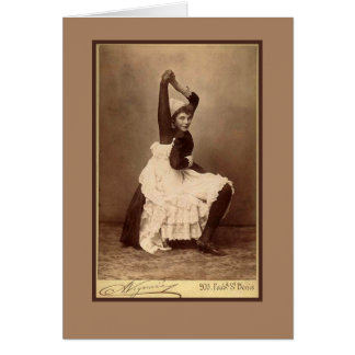 Double Jointed Circus Performer on Cards