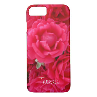 Double Knockout Roses-iPhone 7 Case
