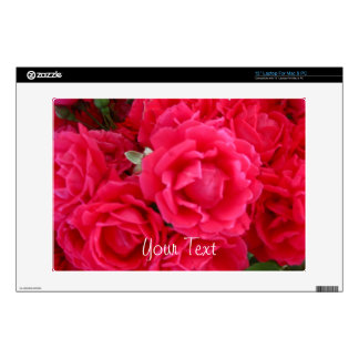 Double Knockout Roses-Vinyl Laptop Skin 13in