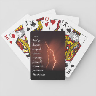 Double lightning card games