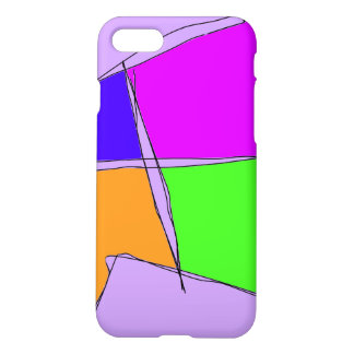 Double Lines Light Purple iPhone 8/7 Case