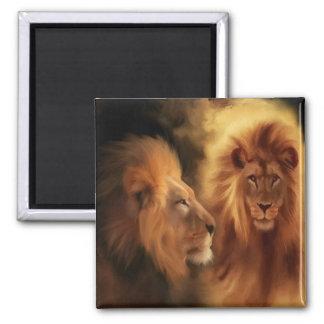 Double Lion Magnet